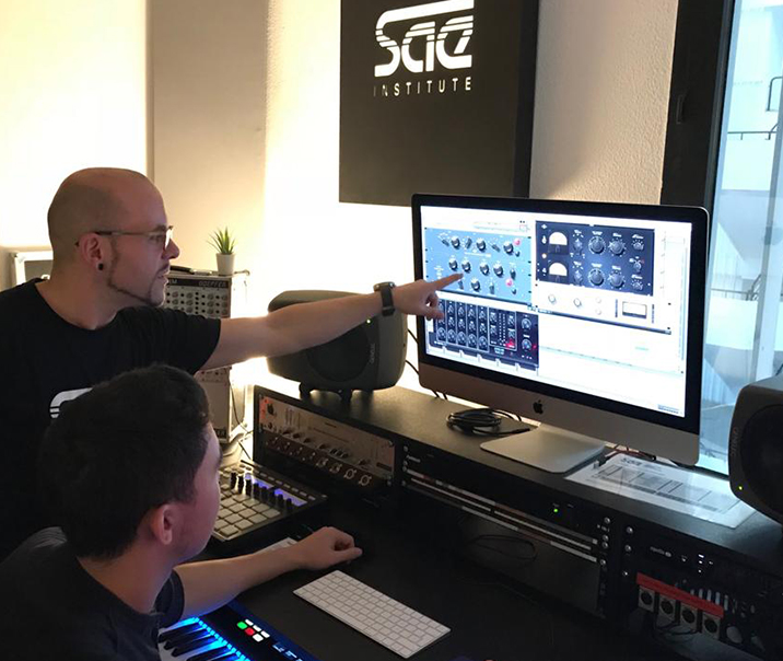 SAE Institute Madrid - Suite Production 1