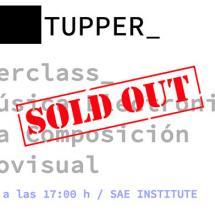 sae-institute-barcelona-sold-out-masterclass-Tupper_Enero-2019