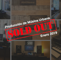 sae institute madrid sold out musica urbana Enero 2019