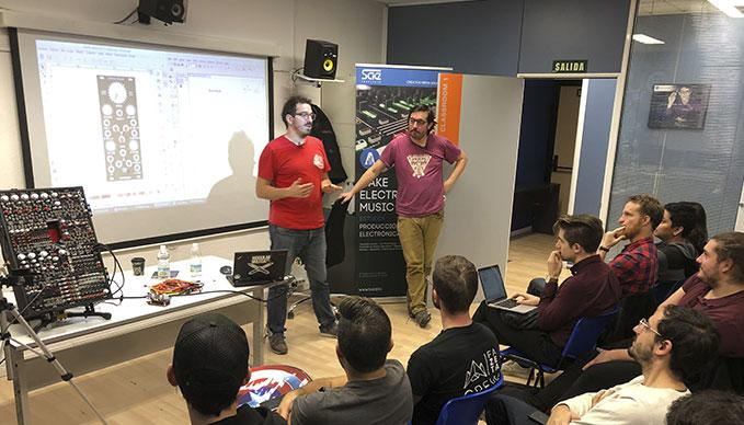 Befaco en SAE Institute Madrid