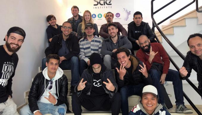 sae session bloody beetroots en sae institute barcelona