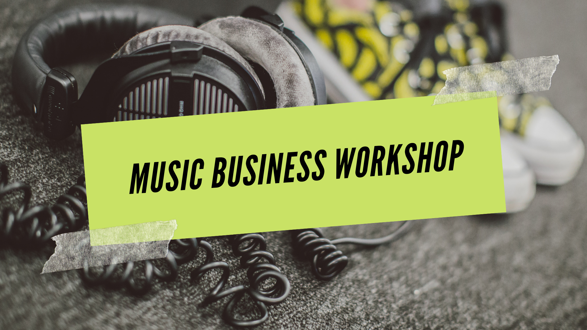 Music Business  Workshop SAE BCN